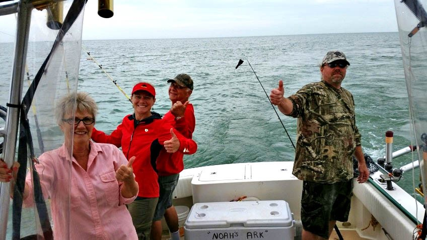 The catch part 2 for Lake erie fishing charters